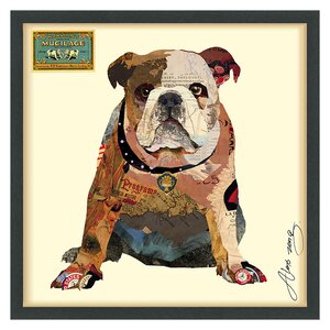 'Men's Best Bully' by Alex Zeng Framed Graphic Art Print by Latitude Run