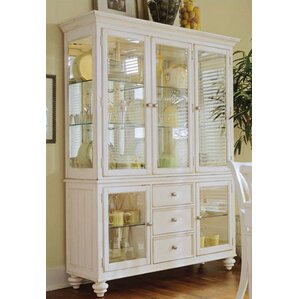 Wheelock Lighted China Cabinet by Beachcrest Home