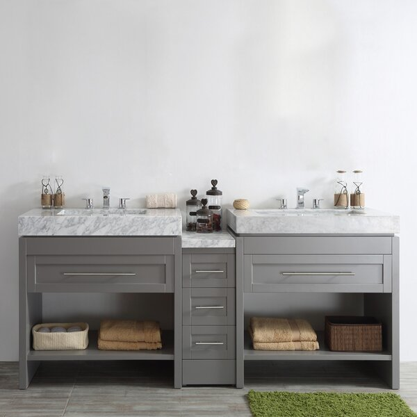 Malt 84 Double Vanity Set by Highland Dunes