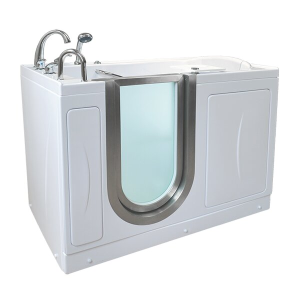 Petite 52.25 x 29.75 Walk-In Bathtub by Ella Walk In Baths