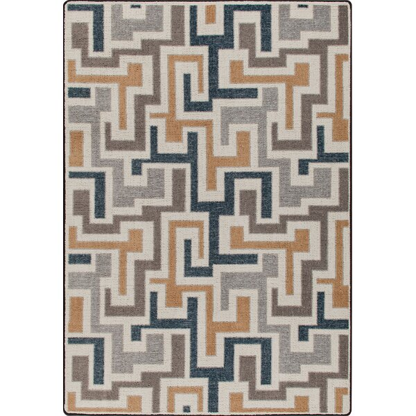 Mix and Mingle Stone Junctions Rug by Milliken