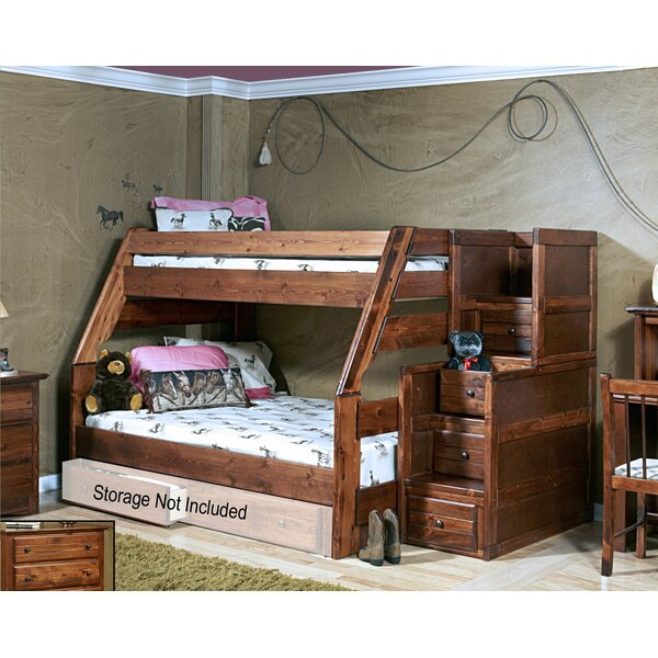Algomera Twin Over Full Bunk Bed by Harriet Bee