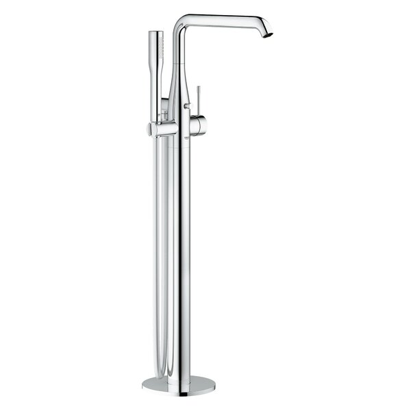Essence Single Handle Floor Mounted Freestanding tub filler Trim with Shower by Grohe