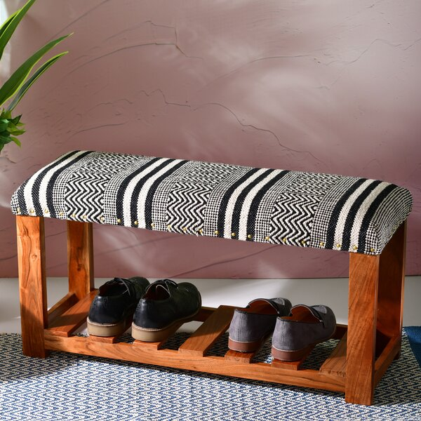 Ameer Upholstered Shoe Storage Bench