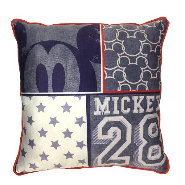 Mickey Americana Decorative Toddler Pillow by Disney