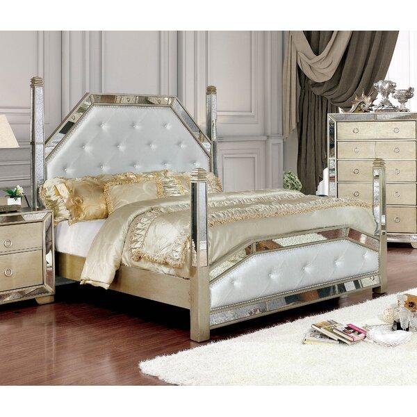 Kahler Upholstered Four Poster Bed by Mercer41