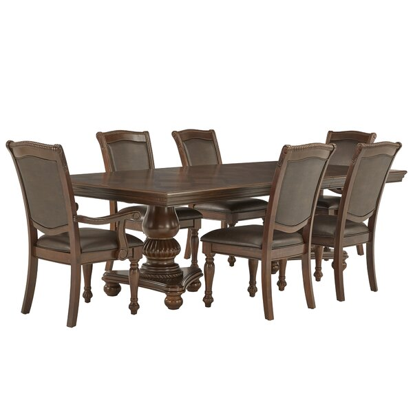 Carreiro Double Pedestal 7 Piece Extendable Dining Set by Darby Home Co