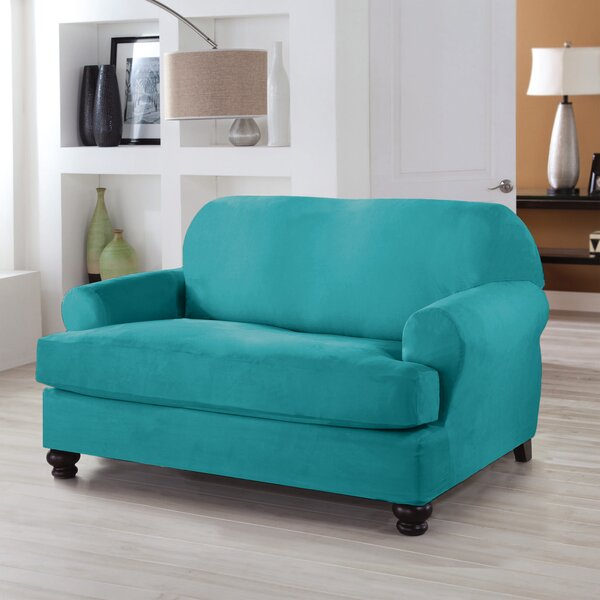 T-Cushion Loveseat Slipcover By Red Barrel Studio
