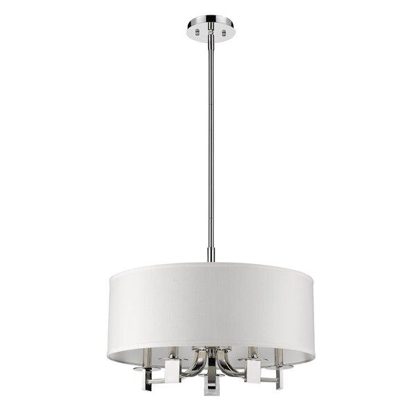 Mckeown 5 - Light Unique / Statement Drum Chandelier by Ebern Designs Ebern Designs