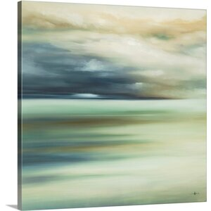 'Scape 108' by KC Haxton Painting Print on Canvas by Canvas On Demand
