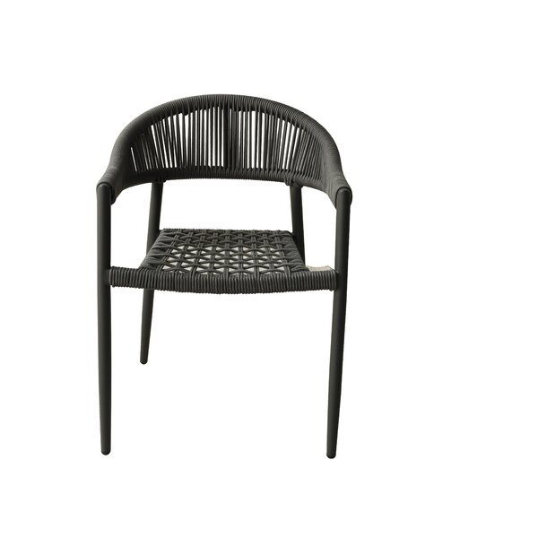 Haslam Patio Dining Chair (Set of 4) by Bungalow Rose