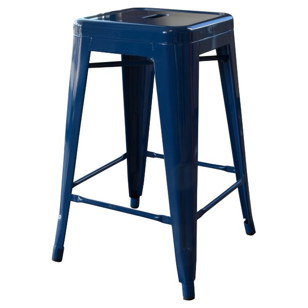 Loft Metal 24 Bar Stool by AmeriHome