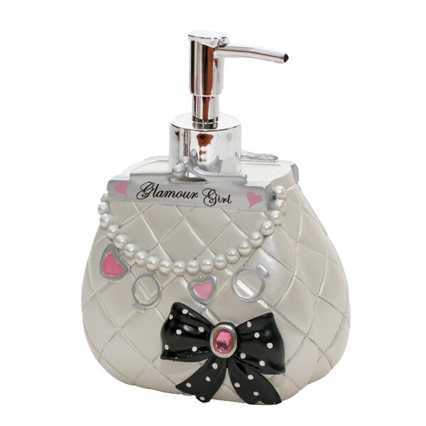 Glamour Girl Lotion Dispenser by Homewear Linens