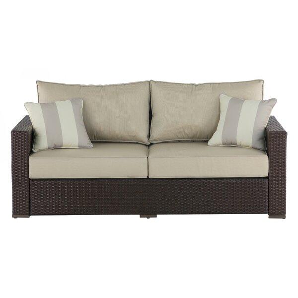 Laguna Outdoor Sofa with Cushions by Serta at Home