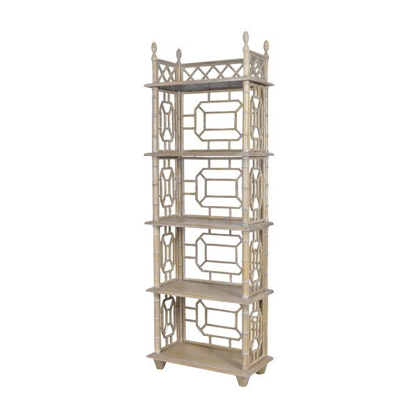 Jona Standard Bookcase by World Menagerie