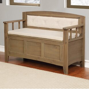 Compare Armina Wood Storage Bench By Gracie Oaks