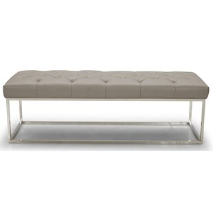 Secor Lux Faux Leather Bench