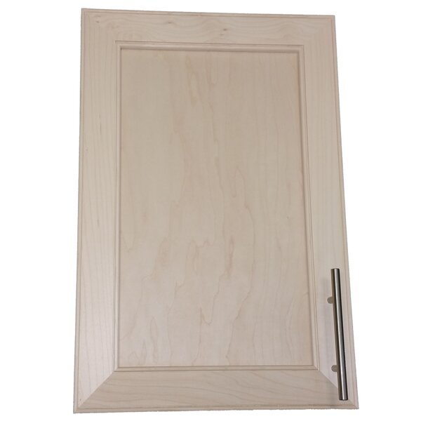 Village 15.5 W x 25.5 H Recessed Cabinet by WG Wood Products