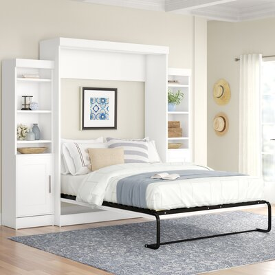 Latitude Run Storage Murphy Bed Beds