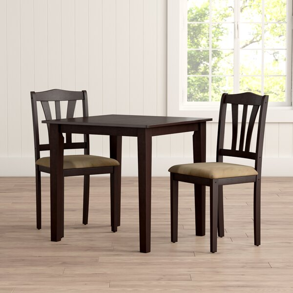 Fresh Dinah 3 Piece Dining Set By Alcott Hill Top Reviews