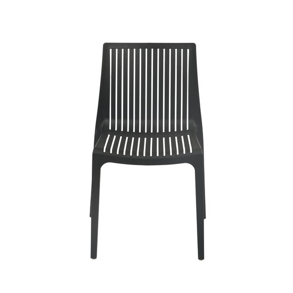 Weingarten Commercial Grade Stacking Patio Dining Chair by Ebern Designs