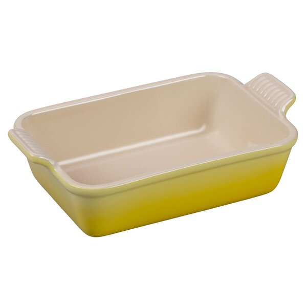 Stoneware Rectangular Heritage Dish by Le Creuset