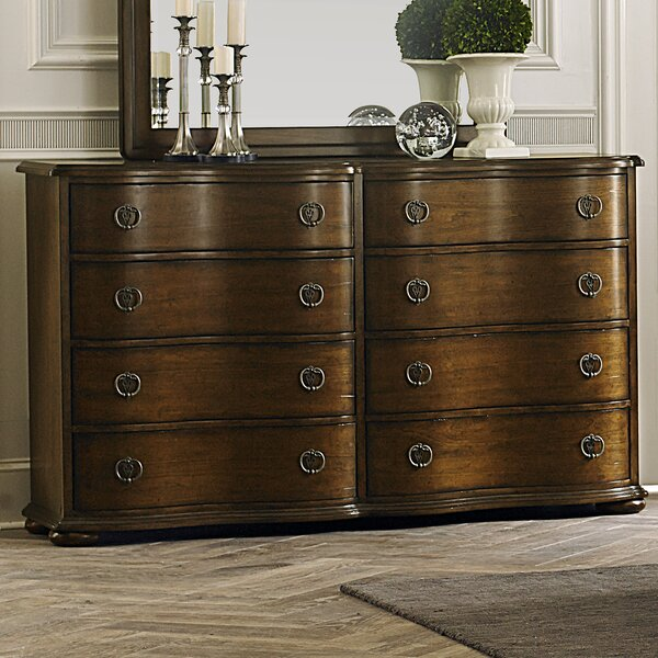 Elwood 8 Drawer Double Dresser by Darby Home Co