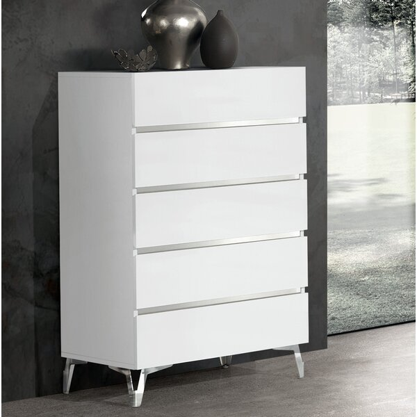 Kayna 5 Drawer Chest by Orren Ellis