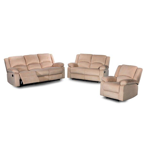 Bhavin 3 Piece Reclining Living Room Set By Red Barrel Studio