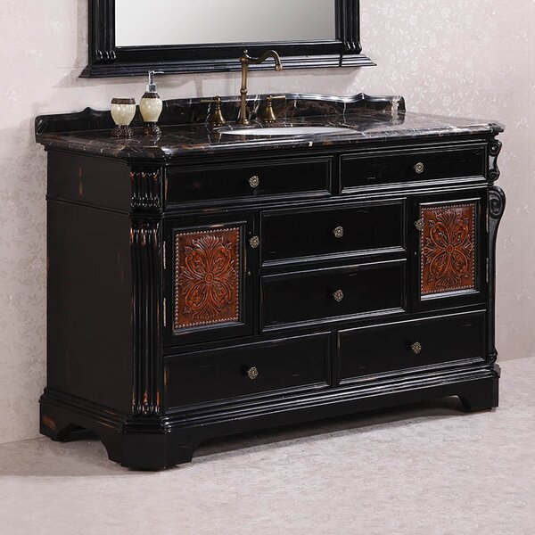 Seneca 60 Single Bathroom Vanity Set by Astoria Grand