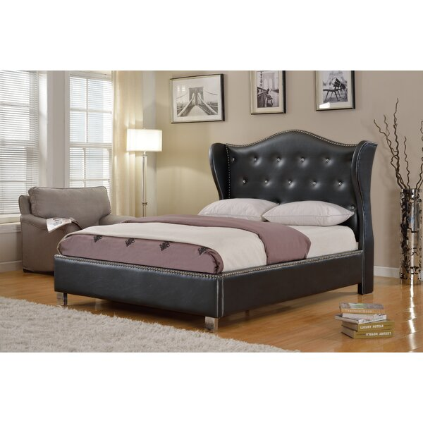 Schexnayder Upholstered Platform Bed by House of Hampton