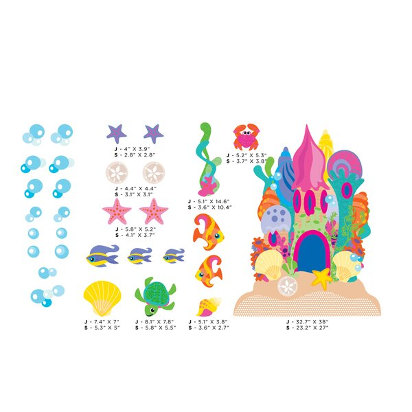 Sand Castle Wall Decal by Sunny Decals