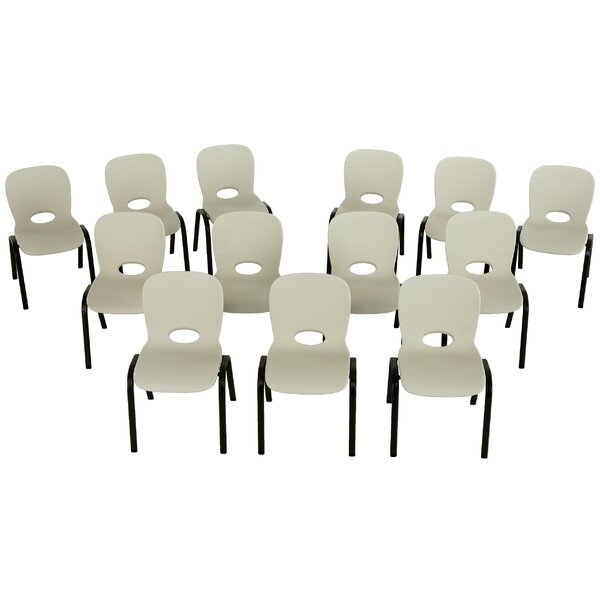12 Plastic Classroom Chairs (Set of 13) by Lifetim