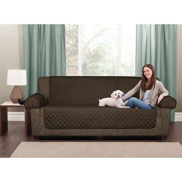 Waterproof 3 Piece Box Cushion Loveseat Slipcover Set by Maytex