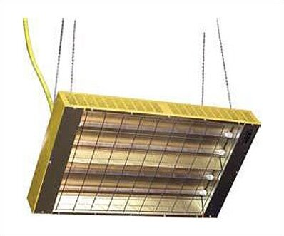 Ceiling Mounted Electric Infrared Heater by TPI