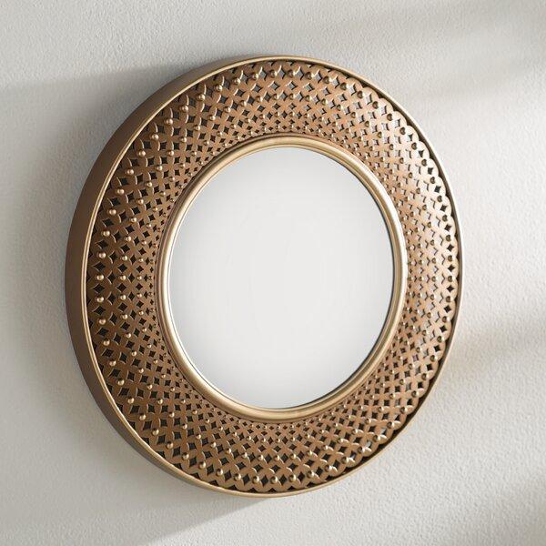 Accent Wall Mirror by World Menagerie