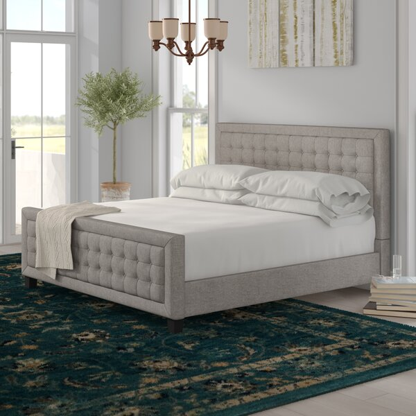 Woodside Upholstered Platform Bed by Three Posts