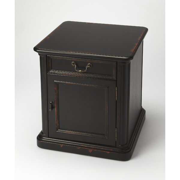 Grand Borendy End Table by World Menagerie