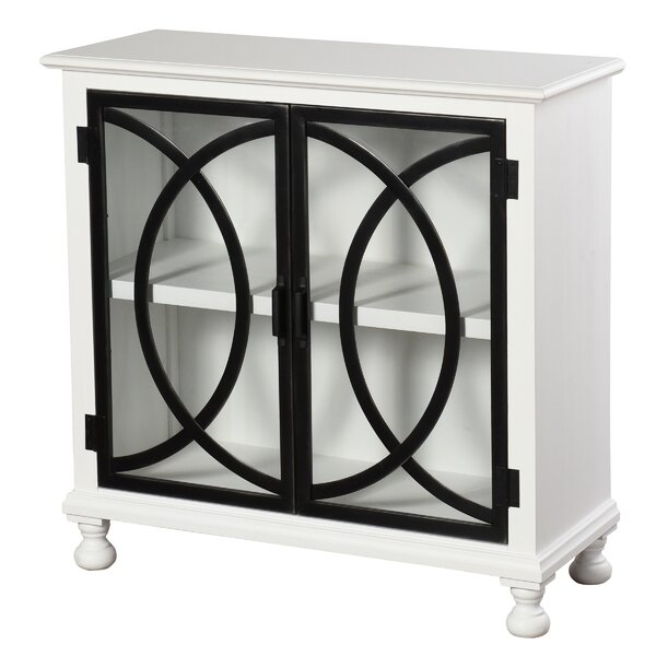 Park 2 Door Accent Cabinet by World Menagerie
