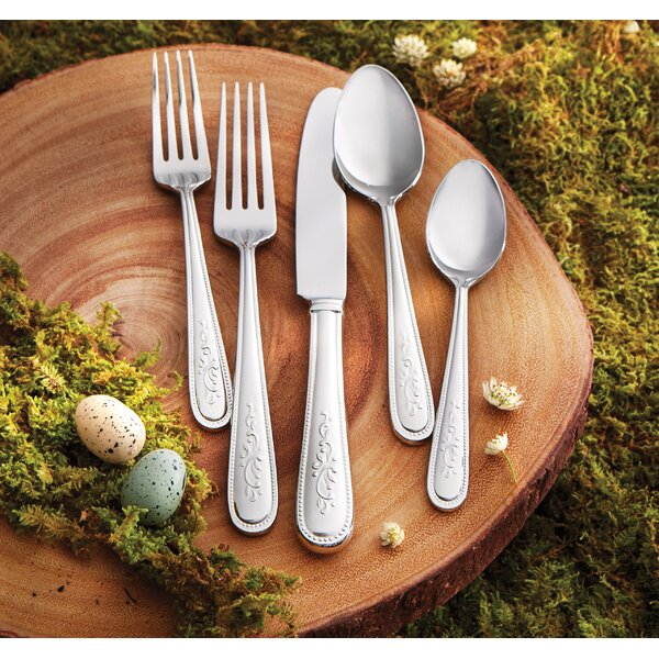 Opal Innocence 5 Piece Flatware Set by Lenox