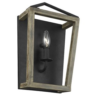 Compare prices Natarsha 1-Light Wall Sconce By Gracie Oaks