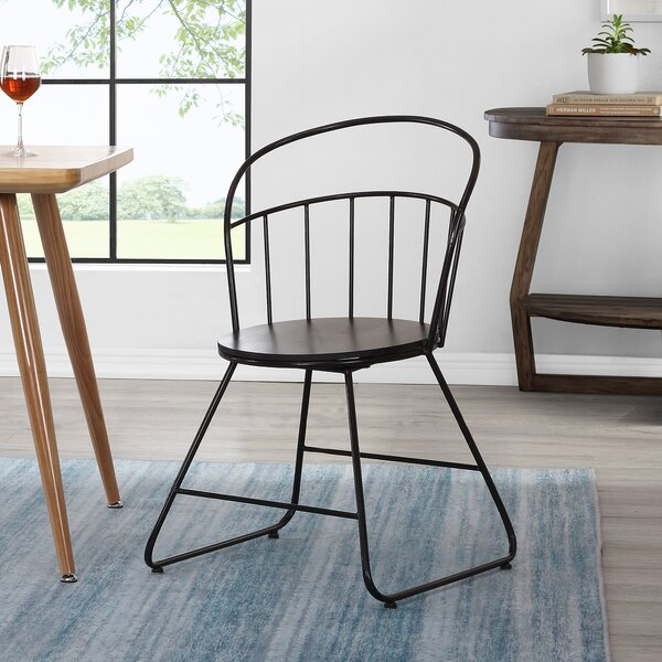 England Wireframe Dining Chair by Gracie Oaks