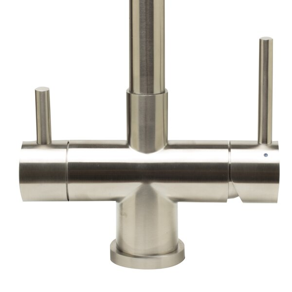 Pull Out Double Handle Kitchen Faucet by Alfi Brand