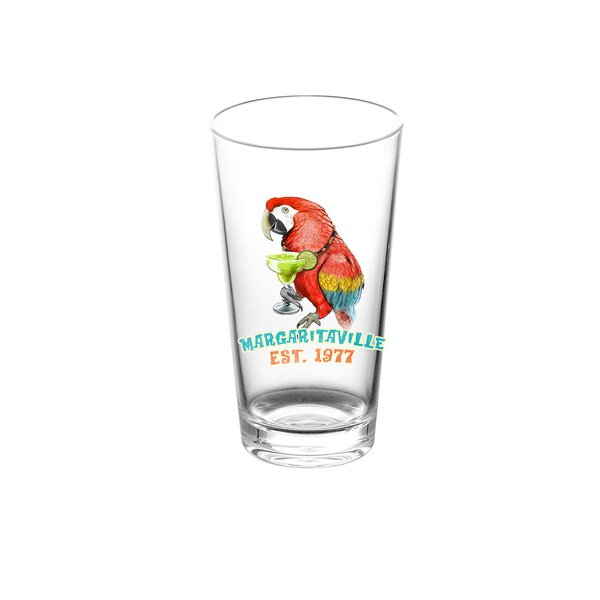 Margaritaville 23 oz. Plastic Everyday Glasses (Set of 6) by Margaritaville