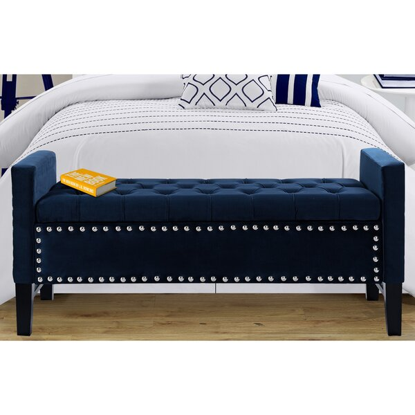 Lance Upholstered Storage Bench by Iconic Home