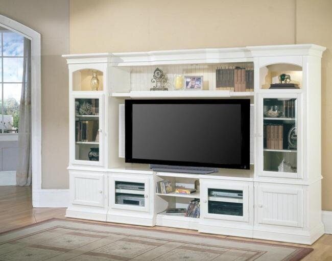 Hokku Designs Entertainment Center & Reviews | Wayfair