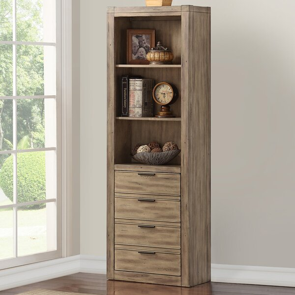 Hanah Library Bookcase By Gracie Oaks