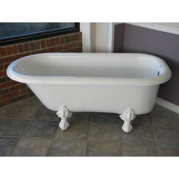 Regent 60 x 30 Freestanding Soaking Bathtub by Restoria Bathtub Company