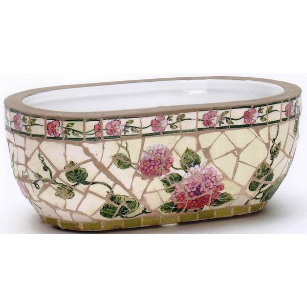 Garden Trends Mosaic Ceramic Planter by Houston International