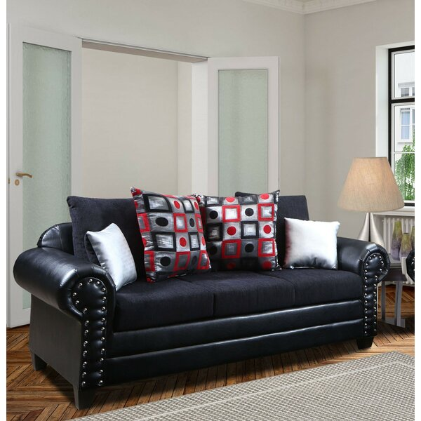 Review Toktam 90'' Rolled Arm Sofa